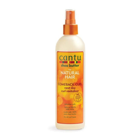 CANTU SHEA BUTTER COMEBACK CURL NEXT DAY CURL REVITALIZER 355 ML - Visons Hair & Cosmetics Butik