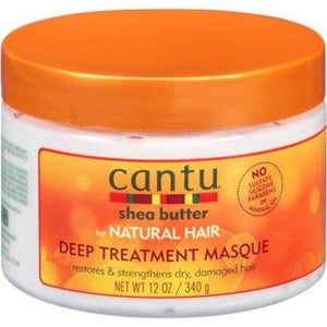 CANTU SHEA BUTTER DEEP TREATMENT MASQUE, 340 G