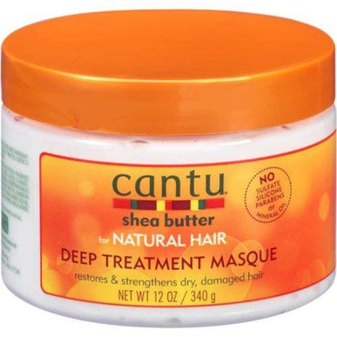 CANTU - SHEA BUTTER DEEP TREATMENT MASQUE, 340 G - Visons Hair & Cosmetics Butik