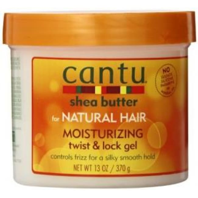 CANTU SHEA BUTTER FOR NATURAL HAIR MOISTURIZING TWIST & LOCK GEL, 370 G - Visons Hair & Cosmetics Butik