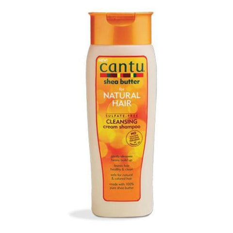 CANTU SHEA BUTTER FOR NATURAL HAIR SULFATE-FREE CLEANSING CREAM SHAMPOO, 400 ML OR 89 ML - Visons Hair & Cosmetics Butik