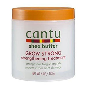CANTU SHEA BUTTER GROW STRONG STRENGTHENING TREATMENT  173g - Visons Hair & Cosmetics Butik