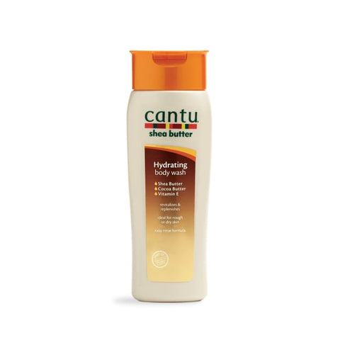 CANTU - SHEA BUTTER HYDRATING BODY WASH, 400 ML - Visons Hair & Cosmetics Butik