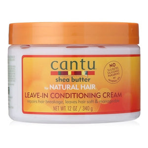 CANTU SHEA BUTTER LEAVE-IN CONDITIONING CREAM, 340 GG - Visons Hair & Cosmetics Butik