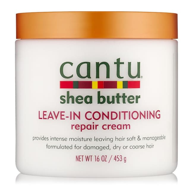 CANTU - SHEA BUTTER LEAVE-IN CONDITIONING REPAIR CREAM,  453 G OR 57 G - Visons Hair & Cosmetics Butik
