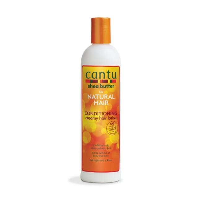 CANTU SHEA BUTTER NATURAL HAIR CONDITIONING CREAMY HAIR LOTION 355 M - Visons Hair & Cosmetics Butik