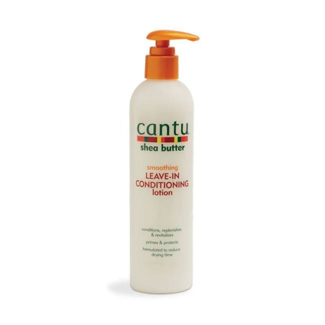 CANTU SHEA BUTTER SMOOTHING LEAVE-IN CONDITIONING LOTION, 284 G