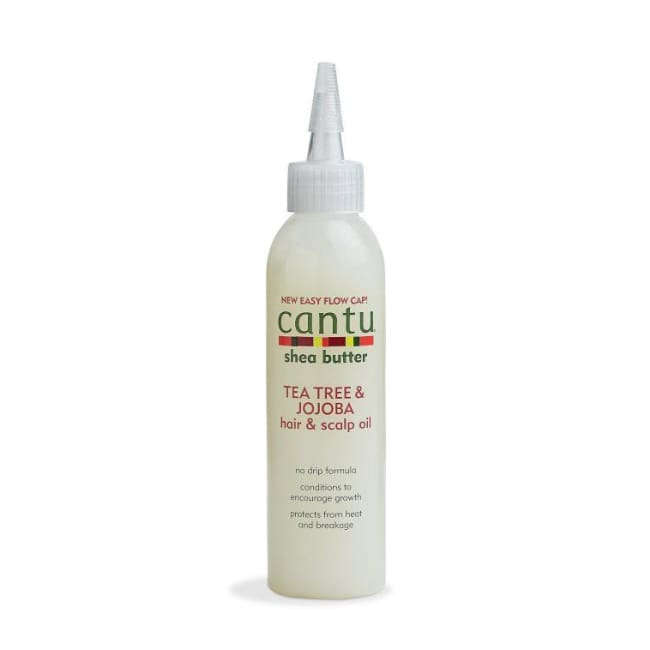 CANTU SHEA BUTTER TEA TREE & JOJOBA HAIR & SCALP OIL, 180 ML