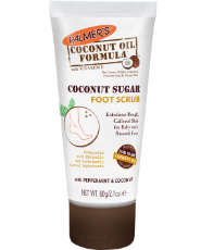 PALMERS COCONUT OIL FORMULA COCONUT SUGAR FOOT SCRUB, 60G