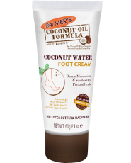 PALMERS COCONUT OIL FORMULA COCONUT WATER FOOT CREAM, 60 G