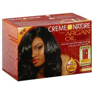<transcy>CREME OF NATURE ARGAN OIL RELAXER, REGULAR</transcy>