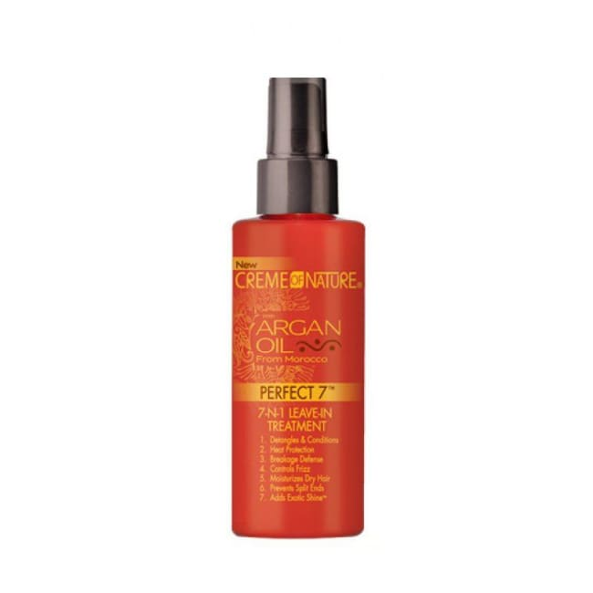 CREME OF NATURE ARGAN OIL 7-N-1 LEAVE-IN TREATMENT, 125 ML