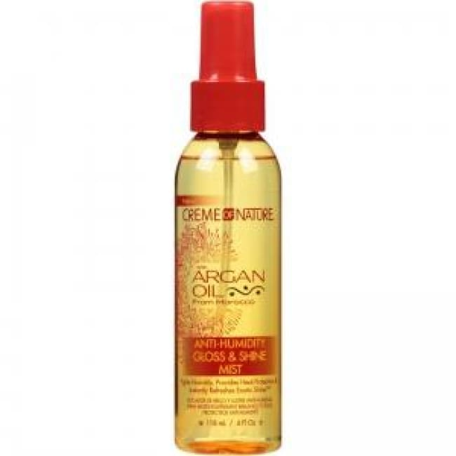 CREME OF NATURE ARGAN OIL ANTI-HUMIDITY GLOSS & SHINE MIST - Visons Hair & Cosmetics Butik