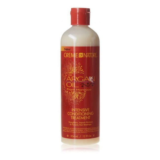 CREME OF NATURE ARGAN OIL INTENSIVE CONDITIONING TREATMENT, 354 ML - Visons Hair & Cosmetics Butik
