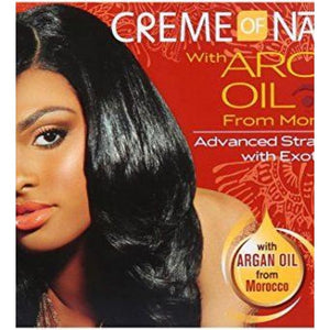 CREME OF NATURE ARGAN OIL RELAXER, SUPER - Visons Hair & Cosmetics Butik
