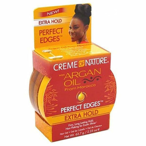 CREME OF NATURE - PERFECT EDGES WITH ARGAN OIL EXTRA HOLD, 63,7 G - Visons Hair & Cosmetics Butik