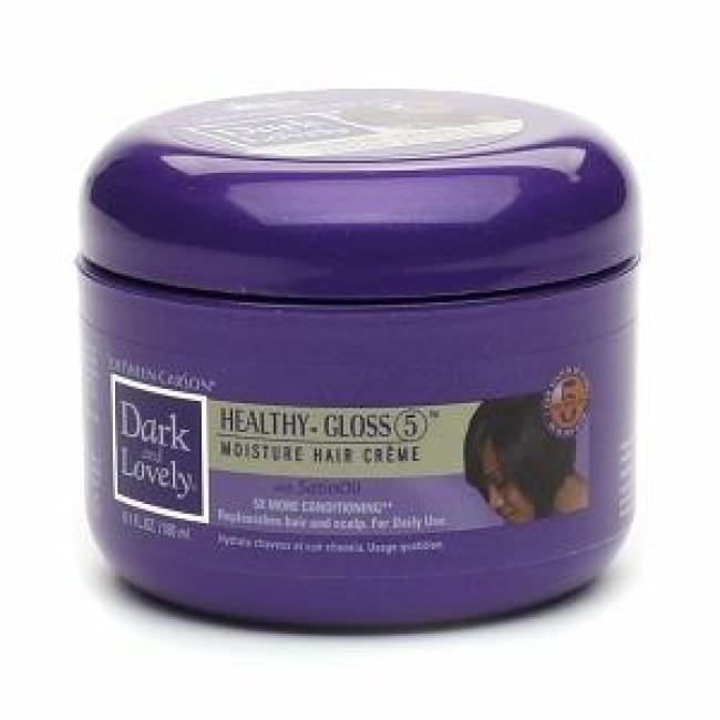 DARK AND LOVELY HEALTHY GLOSS MOISTURE HAIR CREME - Visons Hair & Cosmetics Butik