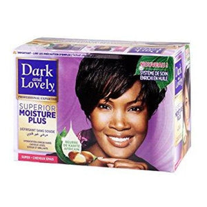DARK AND LOVELY NO LYE RELAXER KIT - SUPERIOR MOISTURE PLUS SUPER - Visons Hair & Cosmetics Butik