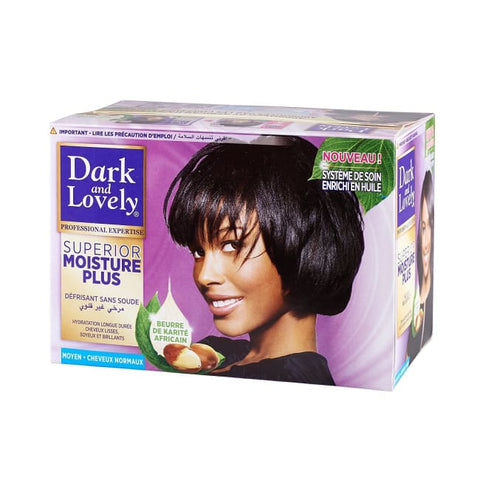 DARK AND LOVELY NO LYE RELAXER KIT - SUPERIOR MOISTURE PLUS - Visons Hair & Cosmetics Butik