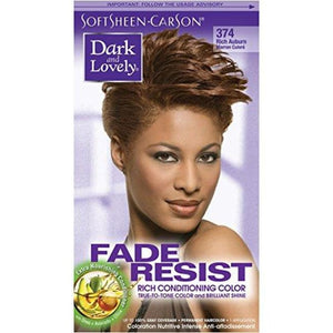 DARK AND LOVELY RICH CONDITIONING COLOR - RICH AUBURN 374 - Visons Hair & Cosmetics Butik