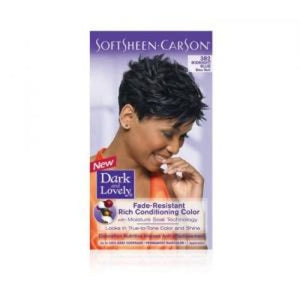 DARK AND LOVELY RICH CONDITIONING COLOR- MIDNIGHT BLUE