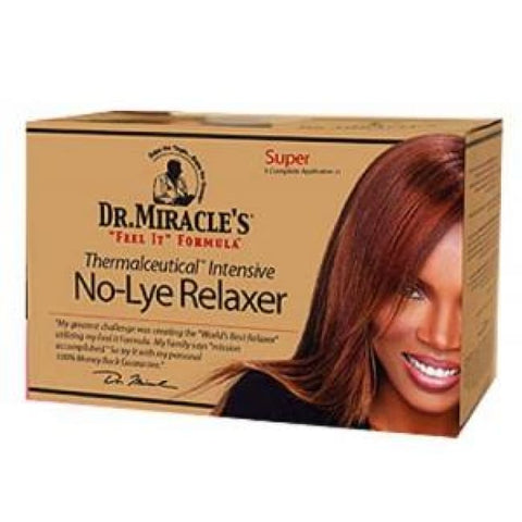 DR MIRACLES NO-LYE RELAXER - SUPER - Visons Hair & Cosmetics Butik