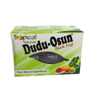 DUDU-OSUN - BLACK SOAP, 150 G - Visons Hair & Cosmetics Butik