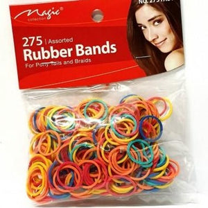 275 ASSORTED COLORS RUBBER BANDS