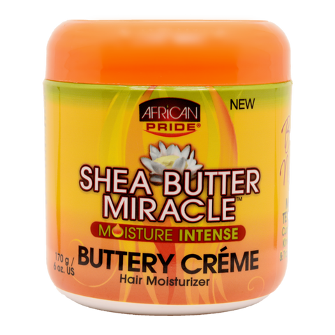AFRICAN PRIDE - SHEA BUTTER MIRACLE BUTTERY CREME, 170 G