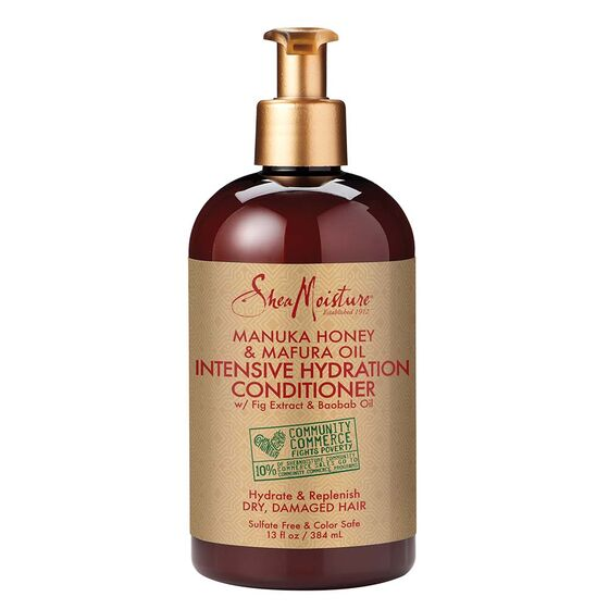 SHEA MOISTURE MANUKA HONEY & MAFURA OIL INTENSIVE HYDRATION CONDITIONER, 384 ML