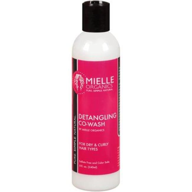 MIELLE ORGANICS DETANGLING CO-WASH FOR DRY & CURLY HAIR TYPES, 240 ML