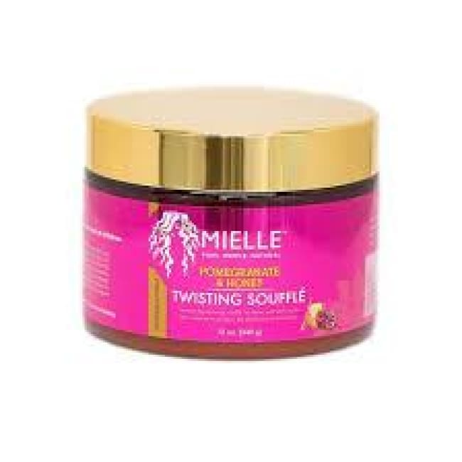 MIELLE ORGANICS POMEGRANATE & HONEY TWISTING SOUFFLÉ, 340 G