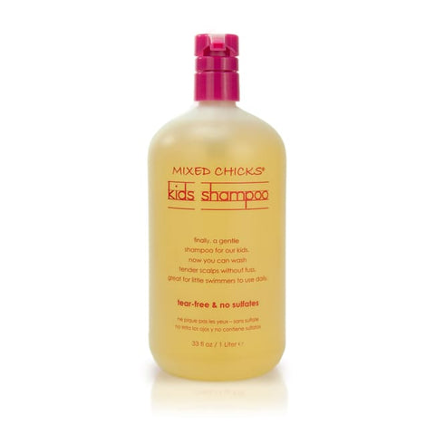 Mixed Chicks Kids Shampoo (Tear-Free & Sulfate-Free) 1 Liter - Hair Care