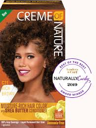 CREME OF NATURE HAIR COLOR RICH BROWN