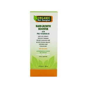 Organic Hair Energizer - Hair Booster With Pro Vitamin-B5