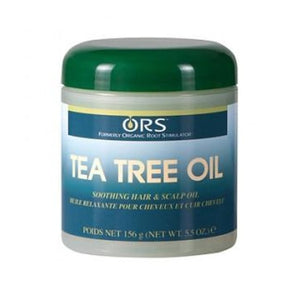 Ors Tea Tree Oil Natural Hair Care Fortified With Botanicals 156 G