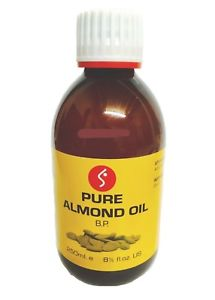 PURE ALMOND OIL, 250 ML