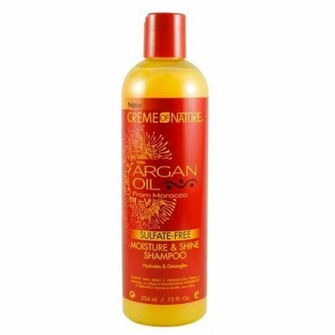 CREME OF NATURE ARGAN OIL MOISTURE & SHINE SHAMPOO, 354 ML