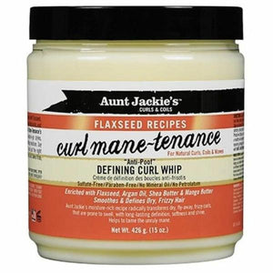 AUNT JACKIES FLAXSEED CURL MANE-TENANCE DEFINING CURL WHIP, 426 G