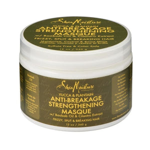 Shea Moisture - Anti-Breakage Strengthening Masque Yucca & Plantain