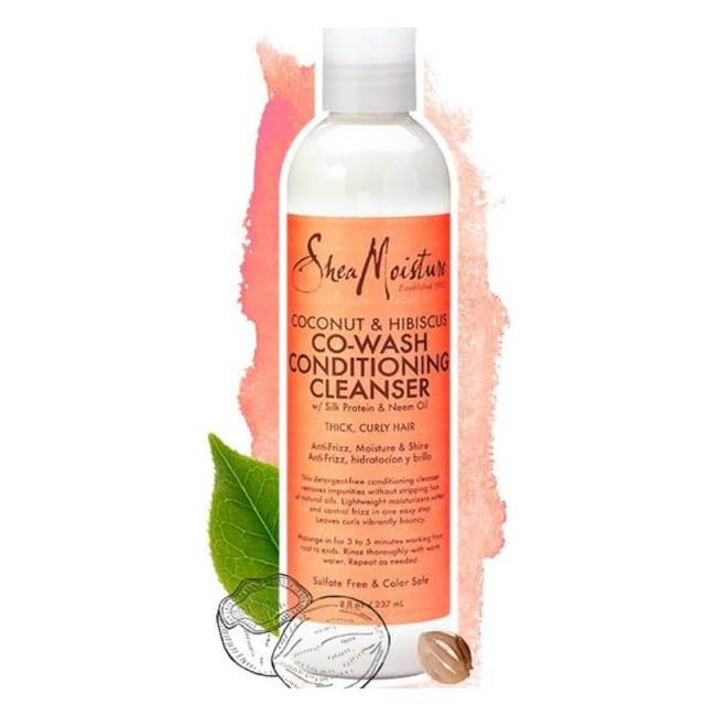 Shea Moisture - Coconut & Hibiscus Co-Wash Conditioning Cleanser 237 Ml