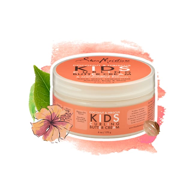 Shea Moisture Coconut & Hibiscus Kids Curling Butter Cream 170 G