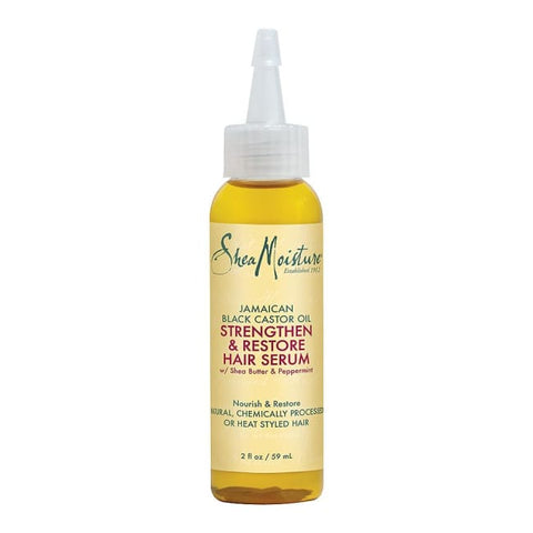Shea Moisture Jamaican Black Castor Oil Strengthen Grow & Restore Hair Serum 59 Ml