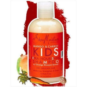 SHEA MOISTURE MANGO & CARROT KIDS EXTRA-NOURISHING SHAMPOO, 236 ML Media 1 av 1