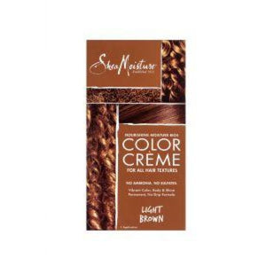 Shea Moisture - Nourishing Moisture - Rich Color Creme - Light Brown