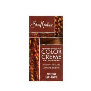 Shea Moisture - Nourishing Moisture - Rich Color Creme - Medium Chestnut
