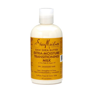 SHEA MOISTURE RAW SHEA BUTTER EXTRA-MOISTURE TRANSITIONING MILK, 236 ML