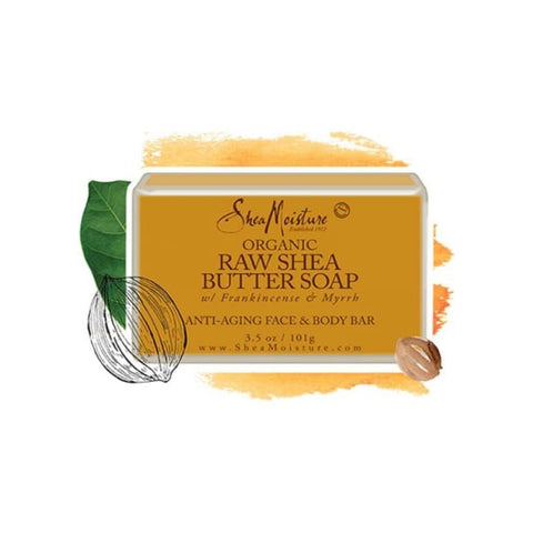 Shea Moisture Raw Shea Butter Facial Bar Soap 101 G