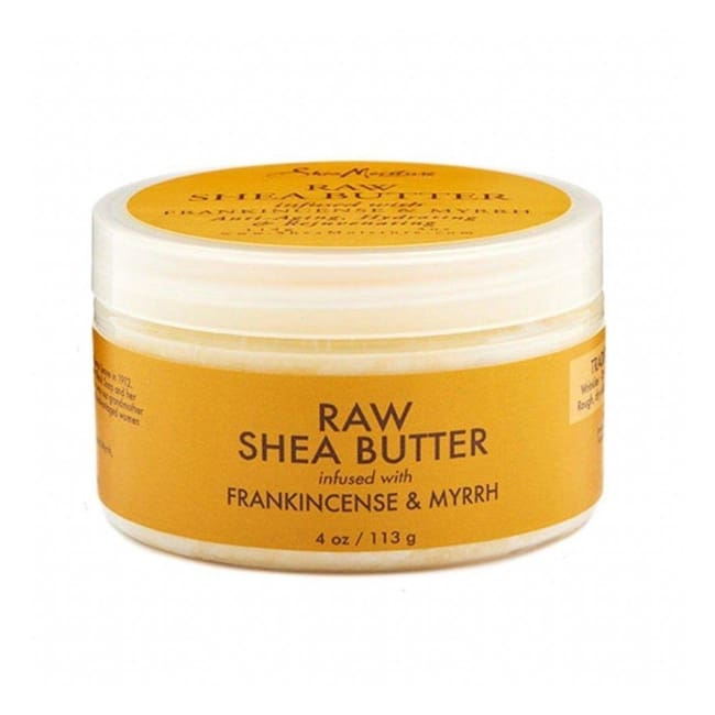 Shea Moisture - Raw Shea Butter Infused With Frankincense & Myrrh 113 G