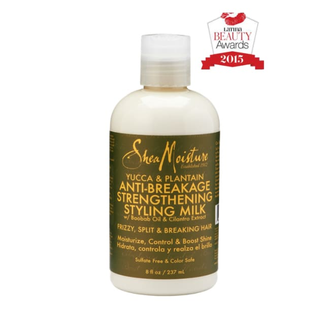 SHEA MOISTURE YUCCA & PLANTAIN ANTI-BREAKAGE STRENGTHENING STYLING MILK, 237 ML